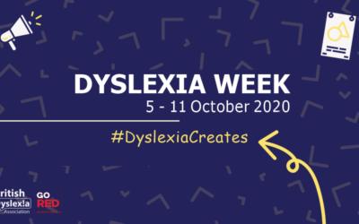 Dyslexia Awareness Week 2020